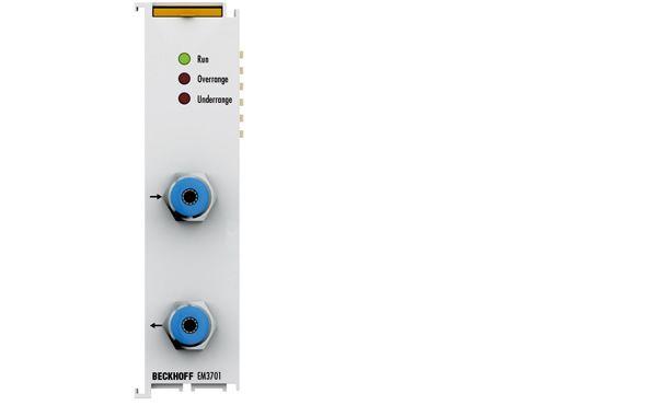 Analog input-Pressure measuring terminal EM3701 Beckhoff