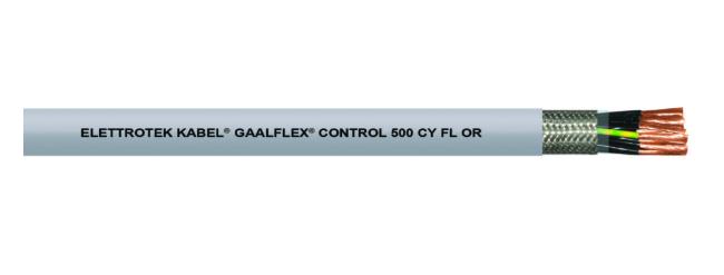 Cáp tin hiệu điều khiển 500 CY FL OR Đại lý Elettrotek Kabel tại Việt Nam.
