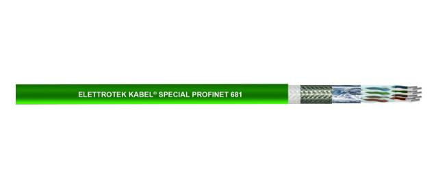 Cáp dữ liệu truyền thông Profinet 681,682 Elettrotek Kabel tại Việt nam