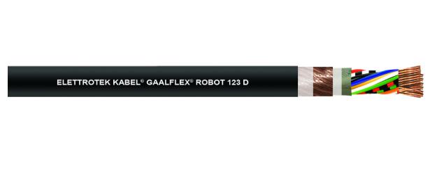 Cáp tín hiệu dạng xoắn Robot 123D Đại lý Elettrotek Kabel Việt Nam