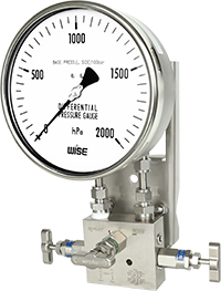 Đồng hồ đo chênh áp Differential pressure gauge P660 - Wise Vietnam - TMP Vietnam