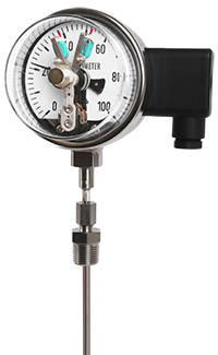 Đồng hồ nhiệt độ có tiếp điểm Thermometer T511, T512, T513, T514, T515-Wise Vietnam-TMP Vietnam