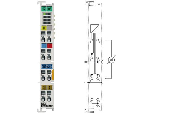 EtherCAT Terminal, analog input EL3001- Beckhoff vietnam