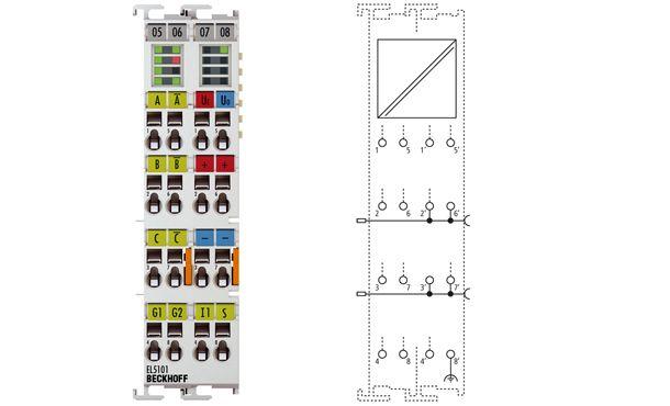 EtherCAT Terminal-Incremental encoder interface-EL5101 Beckhoff