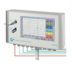 Bộ ghi dữ liệu lưu lượng khí nén DS 500 hãng Cs Instrument.