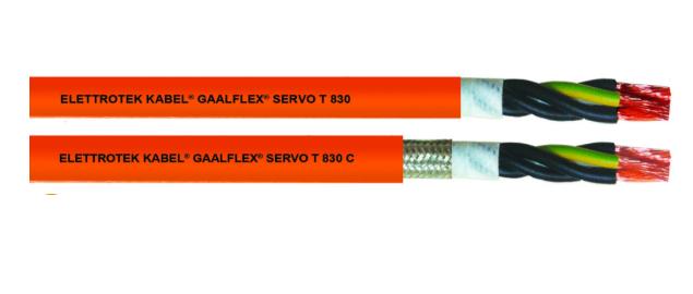 Cáp tín hiệu động cơ servo  T830C Đại lý Elettrotek Kabel Việt Nam