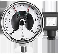 Đồng hồ áp suất 3 kim: P500, P501, P502, P510, P520, P531- Wise Vietnam – TMP Vietnam