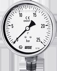Đồng hồ áp suất có dầu P258 - Wise Vietnam - TMP Vietnam