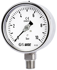 Đồng hồ áp suất Pressure gauge P252 Wise Control Việt Nam.