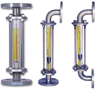 Glass tube flowmeter flange connection F801-Wise Vietnam-TMP Vietnam