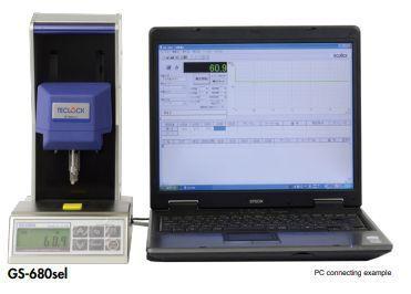 Máy đo độ cứng cao su tự động GS-680sel hãng Teclock.