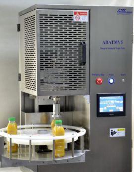 Máy kiểm tra và đo lực vặn nắp chai tự động ADATMV5 S của hãng AT2E