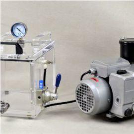 Máy kiểm tra sự rò rỉ của nước giải khát đóng chai, phôi chai VLT ECO hãng AT2E.