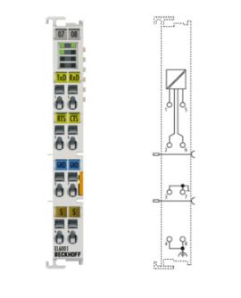 Mô đun giao tiếp Rs232 EL6001 hãng Beckhoff