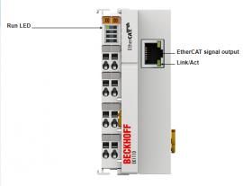 Mô đun mở rộng giao tiếp EtherCat EK1110 hãng Beckhoff