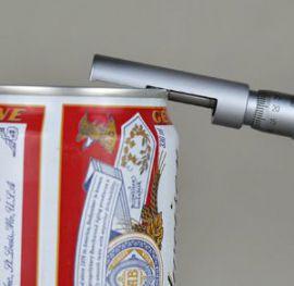 Thiết bị, dụng cụ đo, kiểm tra độ dày của mép lon bia CSM hãng AT2E