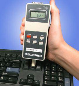 Thiết bị đo kiểm tra lực ấn nút bàn phím máy tính hãng Mark 10.