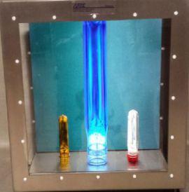 Thiết bị, máy kiểm tra chất lượng sản phẩm phôi chai pet PL 2 hãng AT2E