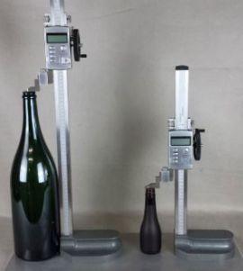 Thước đo chiều cao chai lọ thủy tinh HG 1 của hãng AT2E Việt Nam.